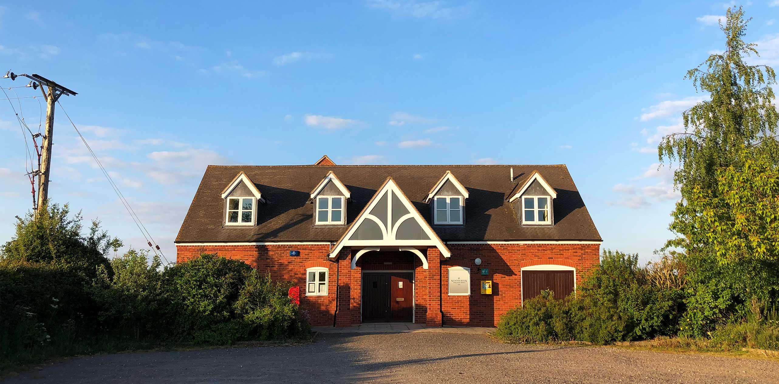 Newton Regis Village Hall - About Us