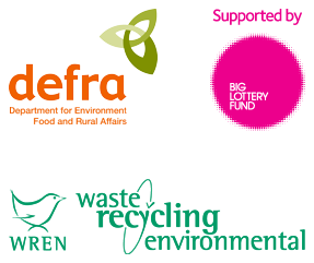 Newton Regis Village Hall Funders The Rural Enterprise Scheme, The Big Lottery Fund and Waste Recycling Environmental Group